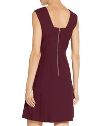 Elizabeth and James - Purple Charlie Stretch-cady Mini Dress - Lyst