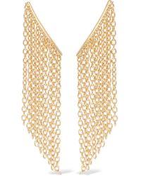 Elizabeth and James | Metallic Kona Gold-tone Earrings | Lyst