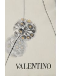 Valentino - Multicolor Printed Silk Scarf - Lyst