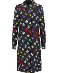 Diane von Furstenberg | Multicolor Amana Floral-print Wool And Silk-blend Coat | Lyst