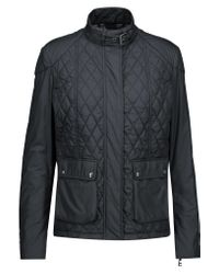 Belstaff | Blue Aynsley Quilted Shell Jacket | Lyst