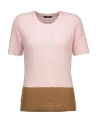 Raoul | Multicolor Two-tone Cable-knit Sweater | Lyst