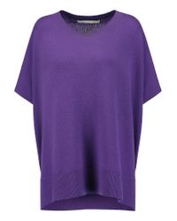 Diane von Furstenberg | Purple Essex Cashmere Sweater | Lyst