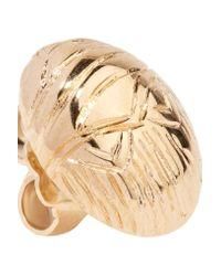 Aurelie Bidermann - Metallic Gold-plated Earrings - Lyst