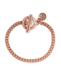 Marc By Marc Jacobs | Metallic Rose Gold-tone Bracelet | Lyst