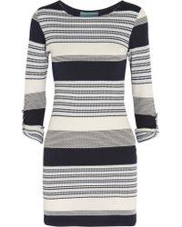 Melissa Odabash | Blue Maddie Stretch-knit Dress | Lyst