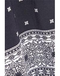 Cosabella - Black Jolene Printed Stretch-jersey Camisole - Lyst