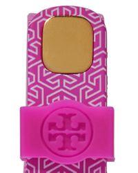 Tory Burch | Purple + Fitbit Flex Printed Rubber Bracelet | Lyst