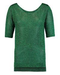 Missoni - Green Metallic Knitted Top - Lyst