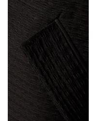 Maje | Black Venezia Piqué Jacket | Lyst