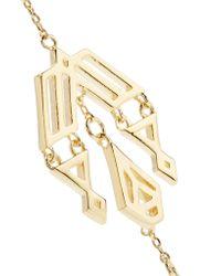 Noir Jewelry - Metallic Zapotec Gold-tone Earrings - Lyst