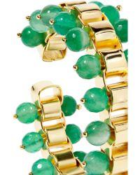 Rosantica - Green Allodola Gold-tone Quartz Cuff - Lyst