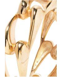 Kenneth Jay Lane | Metallic Gold-tone Bracelet | Lyst