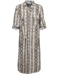 Melissa Odabash - Multicolor Paige Woven Shirt Dress - Lyst