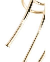 Jennifer Fisher - Metallic Large Pipe Gold-plated Choker - Lyst