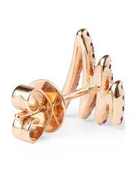 Khai Khai - Multicolor Gold-tone Crystal Earrings - Lyst