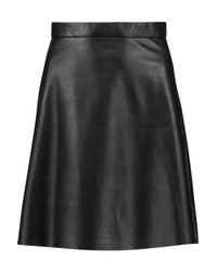 Muubaa - Black Pannala Leather Mini Skirt - Lyst