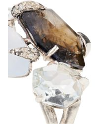 Alexis Bittar - Metallic Sterling Silver Multi-stone Ring - Lyst