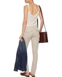 Rag & Bone - Multicolor Cotton-blend Slim-leg Pants - Lyst