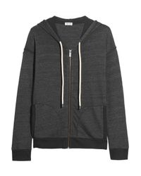 Splendid - Tahoe Jersey Hooded Top Dark Green - Lyst