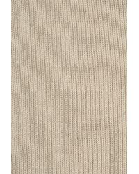 Totême  - Natural Genava Ribbed-knit Scarf - Lyst