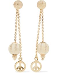 Carolina Bucci - Metallic Carnevale 18-karat Gold And Enamel Earrings - Lyst