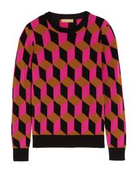 Michael Kors - Multicolor Cashmere Sweater - Lyst
