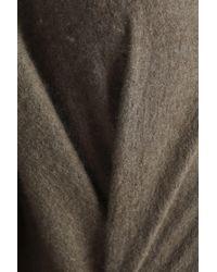 Vince - Multicolor Woman Cashmere Hooded Jacket Mushroom - Lyst