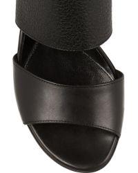 McQ Alexander McQueen - Natural Erin Leather Sandals - Lyst