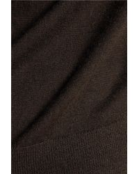 Joseph - Brown Cashmere Sweater - Lyst