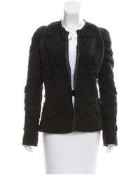 Alessandro Dell'acqua - Black Textured Wool Jacket - Lyst