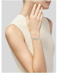 Tiffany & Co - Metallic Somerset Mesh Bangle Silver - Lyst