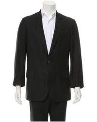 Roberto Cavalli - Black Virgin Wool Two-button Blazer for Men - Lyst