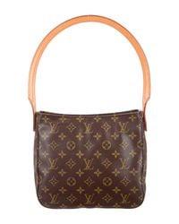 Louis Vuitton - Natural Monogram Looping Mm Brown - Lyst