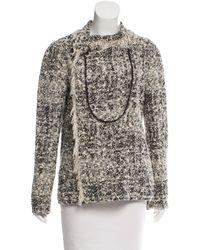 Proenza Schouler - Black Tweed Jacket - Lyst