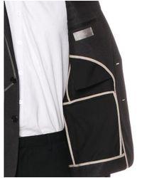 Dior Homme - Black Wool Mesh Blazer for Men - Lyst