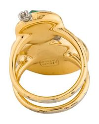 Alexis Bittar - Metallic Multistone Elements Mystic Rivulet Ring Gold - Lyst