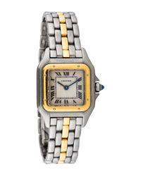 Cartier - Metallic Panthère Watch Gold Tone - Lyst