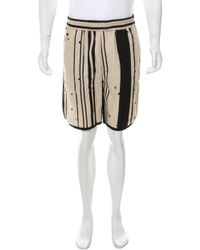 3.1 Phillip Lim - Natural Woven Jogger Shorts W/ Tags Tan for Men - Lyst