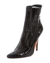 Alexander Wang - Black Magda Ankle Boots W/ Tags - Lyst