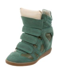 Isabel Marant - Green High-tops & Trainers - Lyst