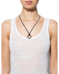 Cartier - Metallic Hindu Quatrefoil Pendant Necklace Yellow - Lyst