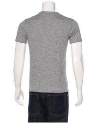 Rag & Bone - Gray Crew Neck T-shirt Grey for Men - Lyst