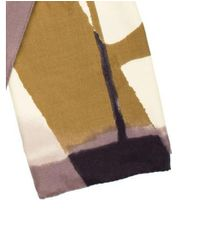 Louis Vuitton - Yellow Cashmere & Silk Printed Shawl Mauve for Men - Lyst