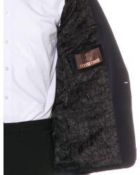 Roberto Cavalli - Black Velvet Tuxedo Blazer for Men - Lyst