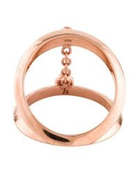 Pamela Love - Metallic Topaz Suspension Ring Rose - Lyst