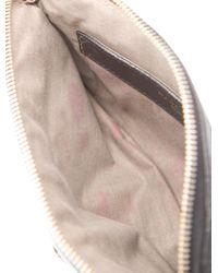 Marc Jacobs - Metallic Mini Leather Crossbody Bag Black - Lyst