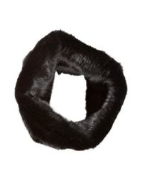 Marc Jacobs - Black Fur Snood - Lyst