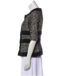 Giambattista Valli - Black Virgin Wool Jacket - Lyst