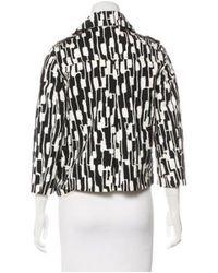 MICHAEL Michael Kors - Black Michael Kors Notch-lapel Button-up Jacket - Lyst
